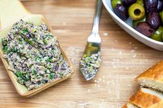 Pasta de azeitona e alcachofra 1