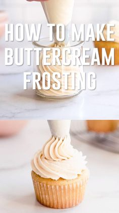 Best Buttercream Frosting, Best Frosting Recipe, Birthday Cake Frosting Recipe, Best Cupcakes, Coffee Frosting Recipe, Sugar Cookie Buttercream Frosting, Easy Cupcake Frosting, Cupcake Frosting Techniques, Homemade Frosting Recipes