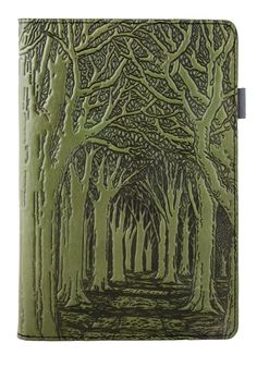 Small Leather Portfolio Notebook | <br/>Avenue of Trees