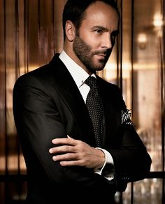 Tom Ford -- This beautiful designer is from Texas, ladies and gentlemen!  A genius!  LOVE his work!!!