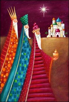 Solve The Three Kings jigsaw puzzle online with 117 pieces Christmas Nativity, Christmas Pictures, Christmas Art, Christmas Projects, All Things Christmas, Vintage Christmas, Christmas Holidays, Christmas Decorations, Christmas Ornaments