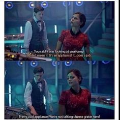 Omg i loved episode Clara's so funny oh my gosh