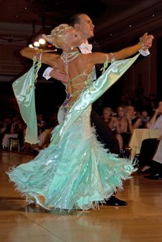 International Standard slow foxtrot (ballroom dance).