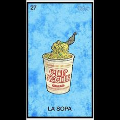 Loteria Mexicana, Spanish, La Sopa