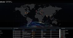 Bitdefender CYBERTHREAT REAL-TIME MAP