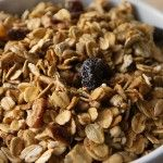 Homemade Granola--used this as base for chewy granola bars, except I left out the seeds, nuts, raisins, and brown sugar (the bars have their own ingredients).