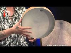 Beginners guide to the Frame Drum - Pete Lockett. Part 3 Step by step introduction into the fantastic world of Frame Drums, starting at the very beginning. Ocean Drum, Frame Drum, Drummers, Youtube, Ideas, Women, Thoughts, Youtubers, Youtube Movies