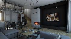 Loft House, Nordic Style, Scandinavian, Kitchen Ideas, Living Room, Design, Home Decor, Decoration Home, Room Decor