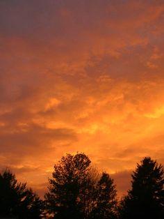 #Sky #Clouds #Sunset