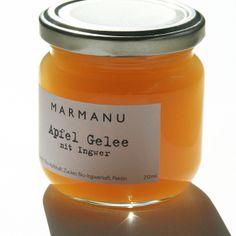 Apfel Gelee mit Ingwer von MARMANU auf DaWanda.com