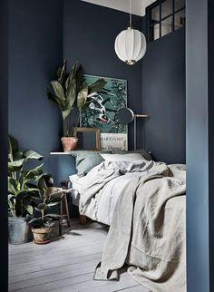 Tolle Wandfarbe fürs Schlafzimmer