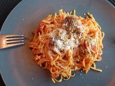 spaghetti and meatballs, my favorite