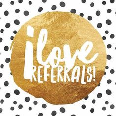 I offer great incentives for Referrals!! Send me someone that signs as a Preffered Customer, and I will give you cash back or free product... Message me for more details!  mklecroy.myrandf.com