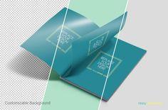Free Customizable Magazine PSD Mockup with Smart Object | ZippyPixels