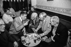 Magnum photographer David Hurn has documented his native Wales for decades, in a celebratory series that turns the mundane into something profound Pub Interior, Social Club, Street Photo, My Father, Vintage Black, Wales, David, Black And White, History