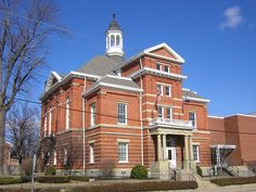 Boone Co. Court House, Burlington, KY  Kala...took my driving test here when I was 15.  Flunked the first time by almost killing the police   officer within the first 5 minutes of the test.  That  may explain a lot...lol.