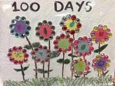 100 Day Project Ideas, 100 Day Of School Project, 100 Days Of School, School Projects, School Ideas, Kid Projects, Kindergarten Shirts, Kindergarten Projects, Cute Crafts