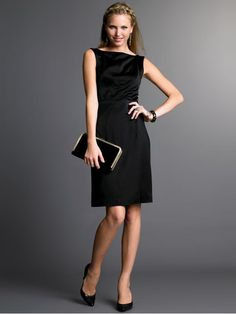 dresses for working women | Dresses such as these are very very chic. It's corporate style yet ...