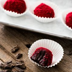 #537063Whole Food BelliesChocolate Raspberry Truffles. The creamiest, dreamiest, and probably healthiest truffles you have ever tasted.