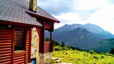 Great View, Log Homes, Greece, Cabin, House Styles, Amazing, Nature, Travel, Home Decor