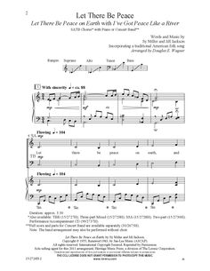 Let There Be Peace (SATB ) arr. Douglas E. W | J.W. Pepper Sheet Music
