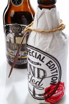 IndHED Craft Beer Limited Edition :: Package Design by Industria , via Behance