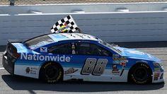 Dale Earnhardt Jr. car he named  Amelia Earhart is headed for the Daytona 500.