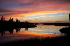 Indian River Sunset  Location: Clermont / Indian River, Prince Edward Island Submitted by: Frank F.