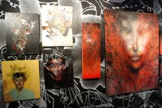 David Choe Character Assassination FIFTY24SF in association with Upper Playground Lower Haight San Francisco Fillmore