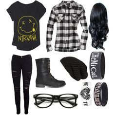 Punk Rock Clothing Tumblr Google Search Hair Outfits