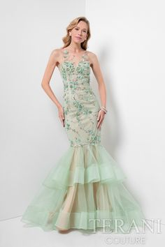 Terani Couture 1712P2639 - Shop more designer prom and evening dresses at MERANSKI.COM  Worldwide Shipping and local boutique in South Florida!