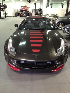 Another Ferrari FF Racing Wrap with Custom Stripe Kit - SkinzWraps Ferrari Ff, Vehicle Wraps, Car Wrap, Custom Design, Wheels, Racing, Kit, Cars, Vehicles