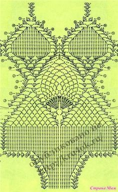 Crochet Swim Suits and Cover Ups 2011 - diamondinapril - Álbuns da web do Picasa Motif Bikini Crochet, Bikinis Crochet, Beach Crochet, Crochet Bra, Crochet Diagram, Crochet Woman, Crochet Chart, Crochet Clothes, Crochet Patterns