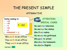 present simple lesson – RechercheGoogle Pasado Simple, Presente Simple, Simple Present Tense, English Learning Spoken, Go To The Cinema, The Third Person, Subject And Verb, English Writing Skills, Do You Work