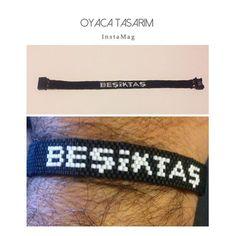 Beşiktaş... El yapımı takılar... İletişim ve sipariş için DM ✉️ #beşiktaş #miyuki #miyukibileklik #elyapımı #elyapimi #