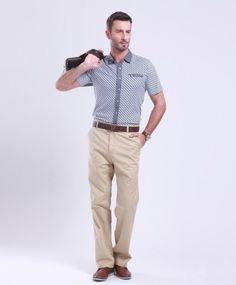 Business Casual Men Jeans | khaki business casual pants for men,casual pants for men,clothing ...