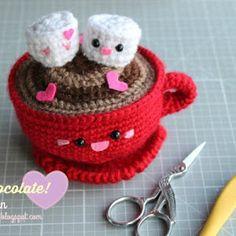 Amigurumi Food: San Valentine's day Hot Chocolate-Free pattern