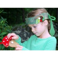 Woodland Fairy Headband and Pouch. $18.95