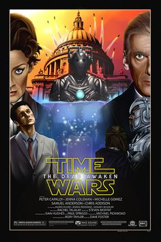 "#DoctorWho meets #StarWars in this Parody titled ""Time Wars - The Dead Awaken"" staring #Peter #Capaldi as the #Doctor and #Michelle #Gomez as #Master (or #Missy). Available on my Etsy store!"