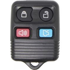 New 4button MERCURY Marauder Key Fob Remote 4 Button Key