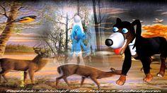 Regenwetter - nicht mal der Hund will raus ♥♥♥♥♥ Wetter, Schlümpfe, Zoob...