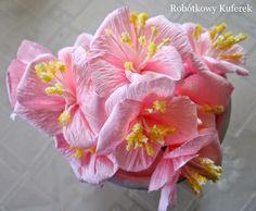 paper crepe flower TUTORIAL