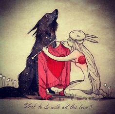 Qui est Chiara Bautista, illustratrice cachée derrière un masque de lapin ? J'ai mené mon enquête… #drawing