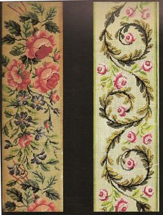 ru / Фото - Embroideries and Patterns of Nineteenth Century Vienna from - kippariss Cross Stitch Borders, Cross Stitch Rose, Cross Stitch Flowers, Cross Stitch Charts, Cross Stitch Designs, Cross Stitching, Cross Stitch Patterns, Folk Embroidery, Ribbon Embroidery