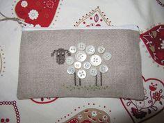 Button sheep. Ovella amb botons