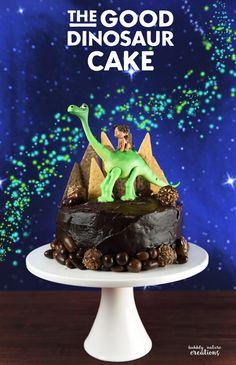 The Good Dinosaur Cake!! So Cute for a Disney The Good Dinosaur party!
