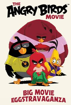 Angry Birds Big Movie Eggstravaganza HC