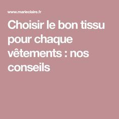 Choisir le bon tissu pour chaque vêtements : nos conseils Coin Couture, Sewing, Inspiration, Spaghetti, Woman, Style, Tissue Types, Dress Types, Choose The Right