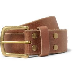 PRODUCT - Jean Shop - Leather Belt - 320909 MR PORTER