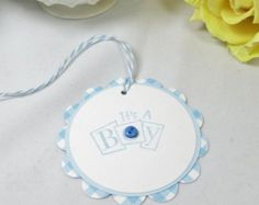 Baby shower favor tags favor tags personalized by PaperLovePrints
